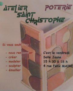 Travaux d'aiguilles / Poterie @ Paroisse Saint Christophe - Salle Jaune | Créteil | Île-de-France | France
