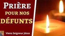 Prière de la pastorale des funérailles