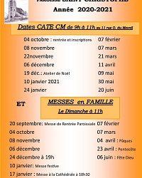 Dates caté CM