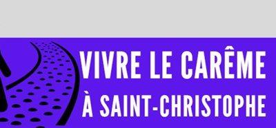 Vivre le Carême avec la paroisse St Christophe