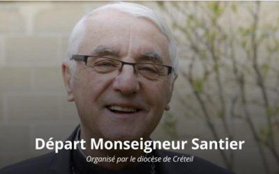 Merci Monseigneur Santier : 13 années d'épiscopat !