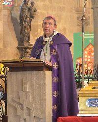 Mgr Dominique Blanchet à St Christophe