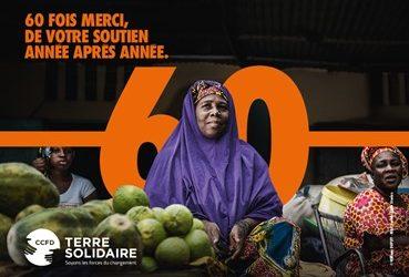 En 2021, le CCFD-Terre Solidaire fête ses 60 ans !
