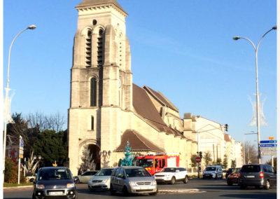 Place de l'Eglise - http://www.le-billet-de-michel.com