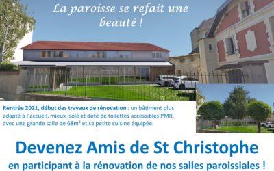 Rénover le bâtiment paroissial de Saint-Christophe